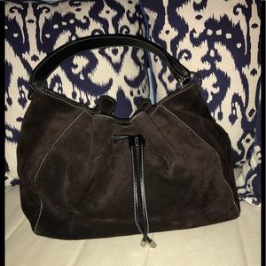 Kate spade leather suede purse